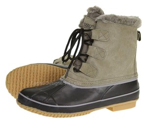 Khombu Black/Tan Boots
