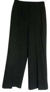 Ellen Tracy Wool Dress Pant Sz 16 Trouser Pants Black