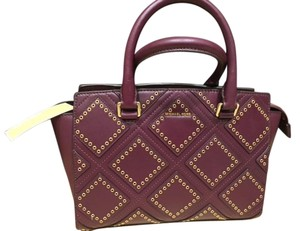 Michael Kors Selma Satchel in Plum