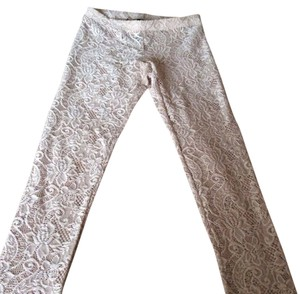 Kova&T Pants Style Cool Fun Rhianna Pink/beige Leggings