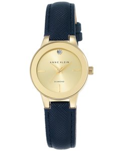 Anne Klein Goldtone and blue/navy Ak 2538