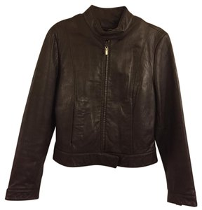 Sally & John New York Brown Leather Jacket