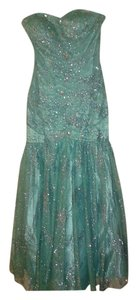 DEB Formal Beaded Sequin Prom Mermaid Dress