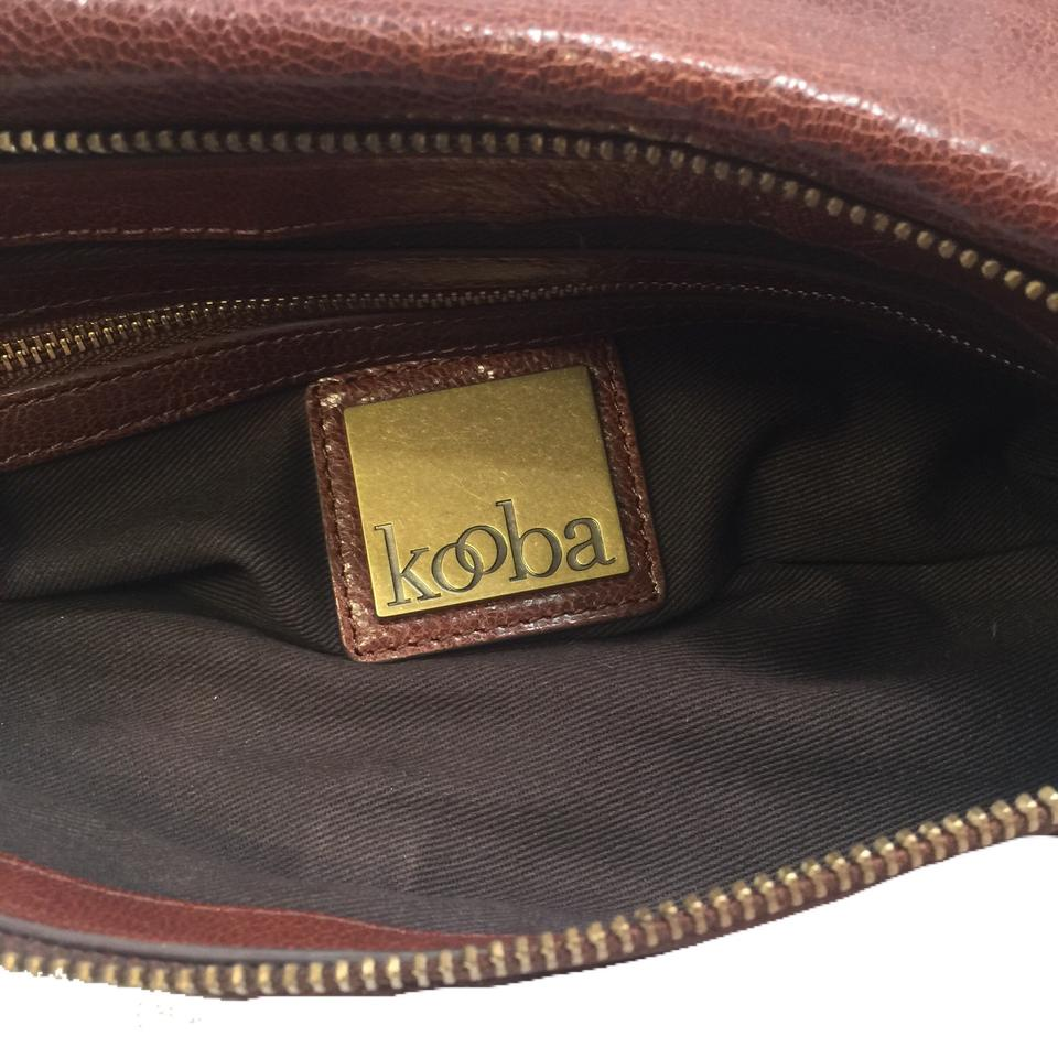 Leather Brown Kooba Shoulder Bag Distressed 8zxqw7A