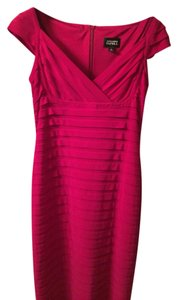 Adrianna Papell Pleat Body Con Cocktail Dress
