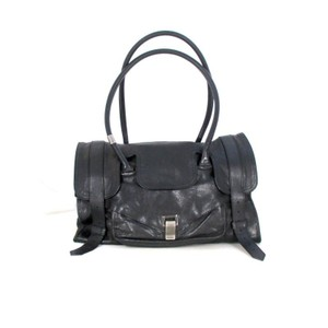 Proenza Schouler Leather Designer Tote in Black