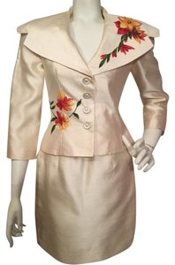 Victor Costa Victor Costa Skirt Jacket Suit
