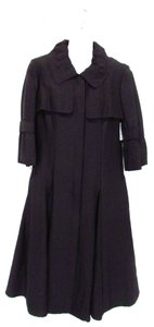 Lafayette 148 New York 3/4 Sleeve Trench Trench Coat