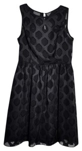 Banana Republic Sheer Formal Holiday Diamond Dress