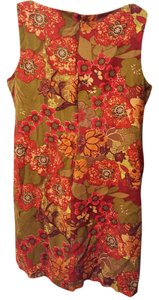R B COLLECTION New York short dress Multicolor Bling Floral Print Sleeveless on Tradesy