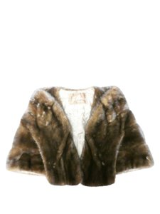J.P Allen Shrug Fur Coat