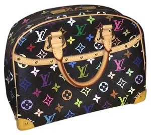 Louis Vuitton Trouville Leather Limited Satchel in Multicolor