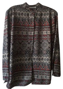 Draper's and Damon's Button Down Shirt Tribal Print