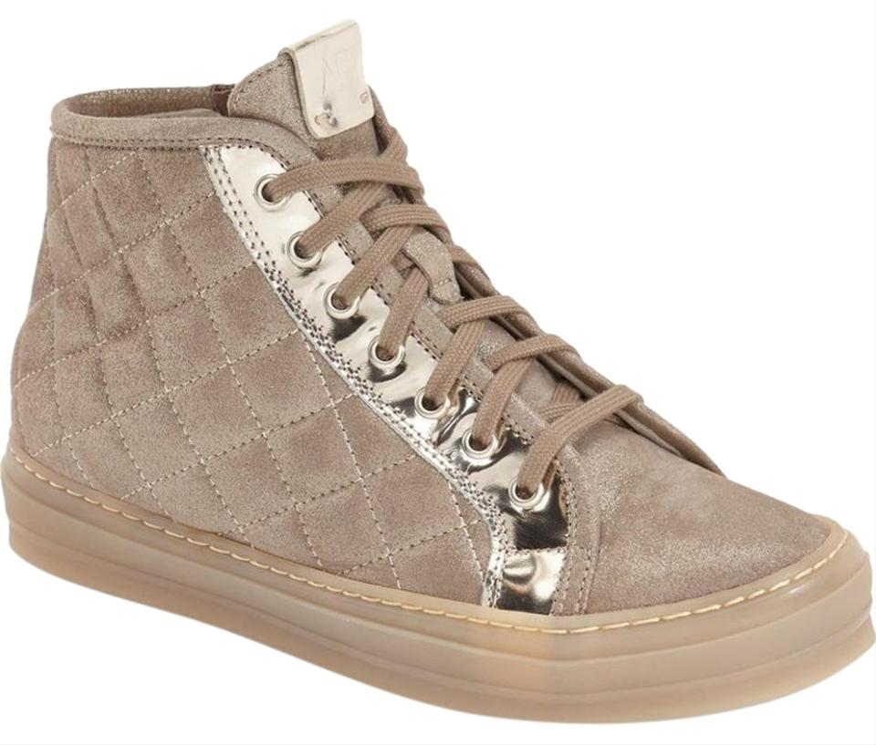 c31939bba Attilio Giusti Leombruni Pink Agl Quilted Leather High Top 36.5 ...