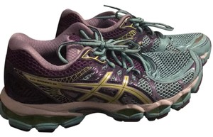 Asics Mint/purple Athletic