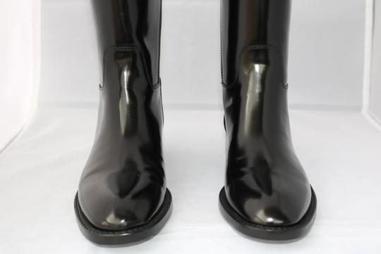 Saint Laurent Leather Black Luxury Brown Boots