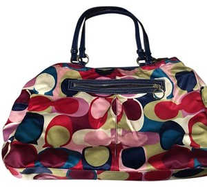 Coach Satchel in Multi-colored
