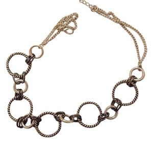 Premier Designs Silver loop chain necklace