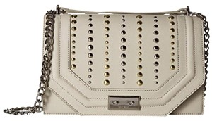 Nine West Ivory Gold Messenger Bag