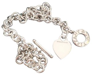 Tiffany & Co. Tiffany & Co Sterling Toggle Heart Tag Necklace