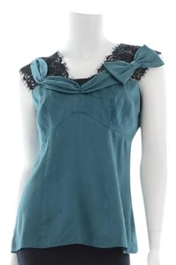 Nanette Lepore Top Dark Teal
