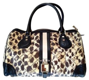 L.A.M.B. Leopard Satchel in Cheetah