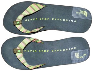The North Face Casual Durable Comfortable Breathable Bohemian Multi Colored Sandals
