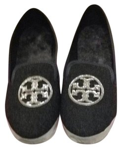 Tory Burch Charcoal Flats