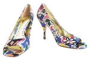 BCBGeneration Print Heels Multi-Color Pumps