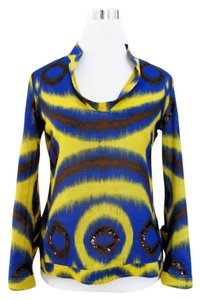 Tory Burch Sequins Tie Dye Tunic