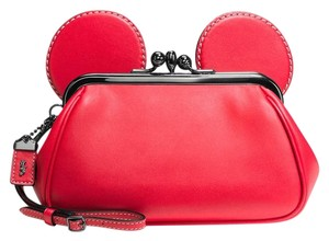 Coach Limited Edition Red Clutch