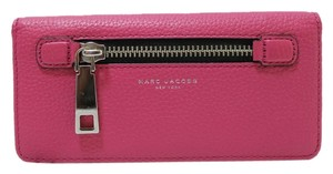 Marc Jacobs Marc Jacobs Gotham Open Face Wallet Checkbook Wallet Begonia