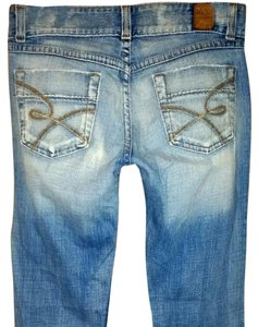 BKE Miss Me Hudson Silver Boot Cut Jeans-Distressed