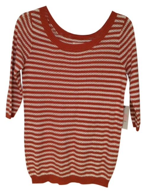 Quiksilver Spring Vacation Knits Scoop Neck Preppy Classic Sweater