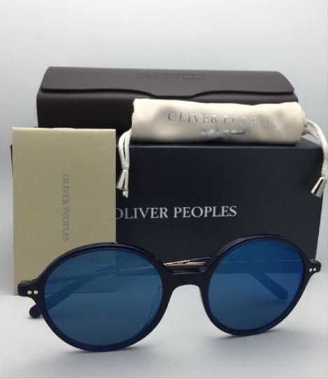 Oliver Peoples New OLIVER PEOPLES Sunglasses CORBY OV 5347SU 156696 51-19 Blue & Gold Image 10