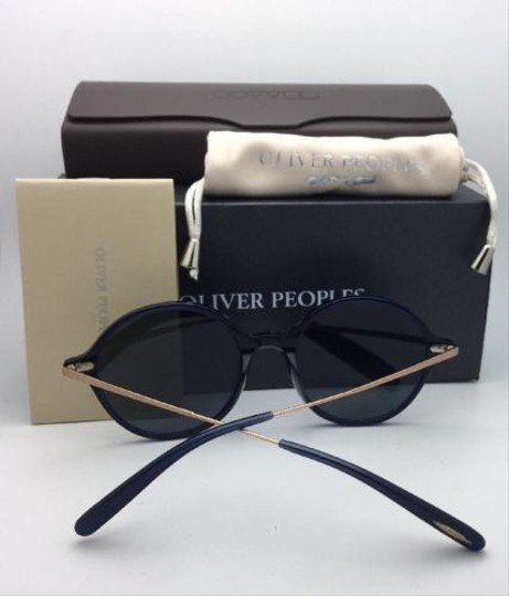 Oliver Peoples New OLIVER PEOPLES Sunglasses CORBY OV 5347SU 156696 51-19 Blue & Gold Image 3