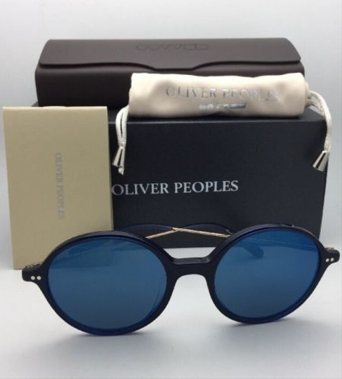 Oliver Peoples New OLIVER PEOPLES Sunglasses CORBY OV 5347SU 156696 51-19 Blue & Gold Image 5