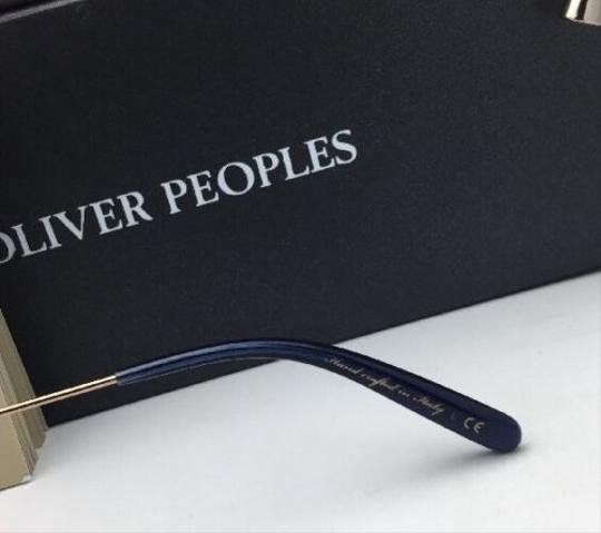 Oliver Peoples New OLIVER PEOPLES Sunglasses CORBY OV 5347SU 156696 51-19 Blue & Gold Image 8