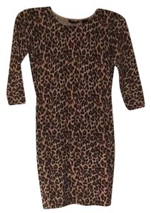 Moda International short dress Leopard on Tradesy