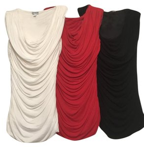 Express (pack of 3) Black Red Top Black, red, off white