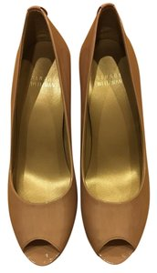 Stuart Weitzman Holiday Formal Cocktail Pump Nude Pumps