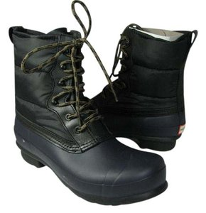 Hunter navy/ black Boots