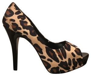Jessica Simpson Animal Print Platforms