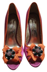 Poetic License Prom Casual pink and orange Formal