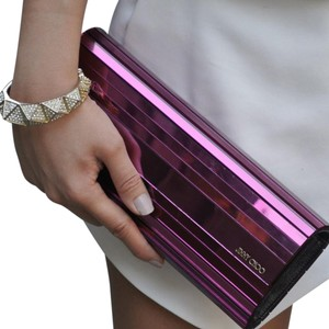Jimmy Choo Purple Clutch