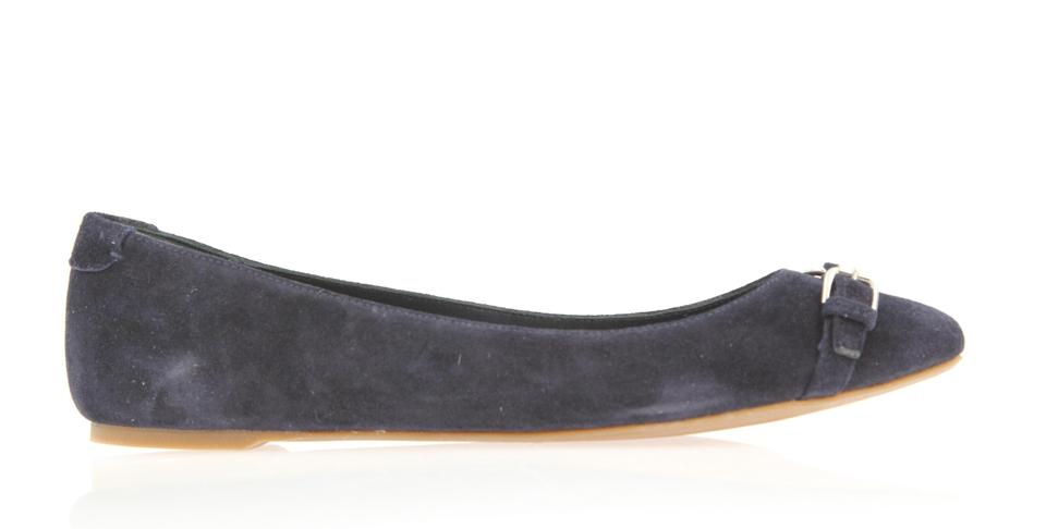 ab977178e9eb Ralph Lauren Collection Sophisticated Made In Spain Couture Line Blue Flats  Image 0 ...
