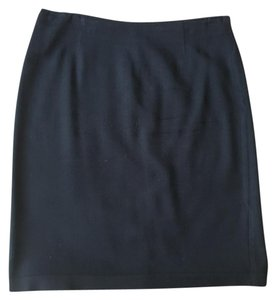 Sisley Pencil Work Office Pencil Skirt Black