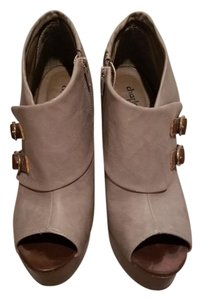 Charlotte Russe Grey & Brown Boots