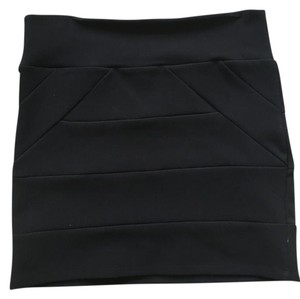 Arden B. Bandage Mini Skirt Black