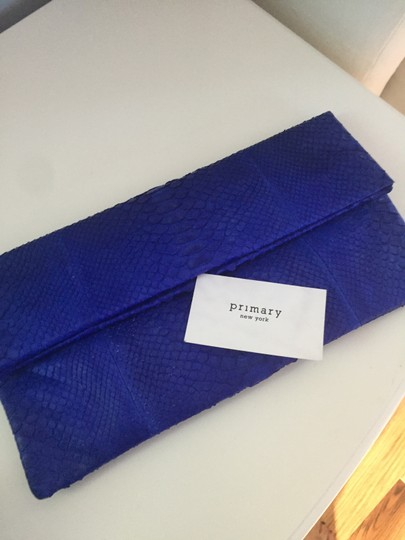 Primary Blue Clutch Image 2